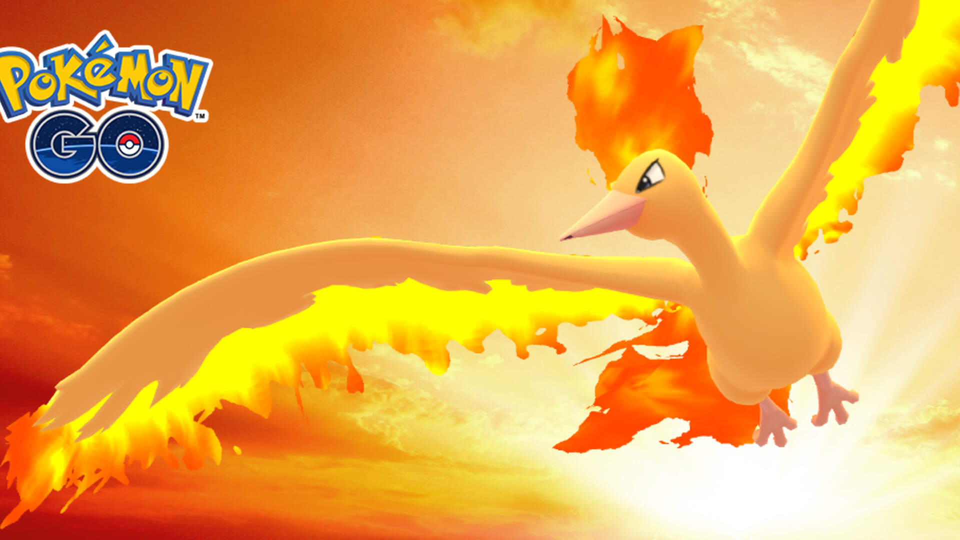Pokemon GO Moltres Day Adds Sky Attack Moltres on September 8