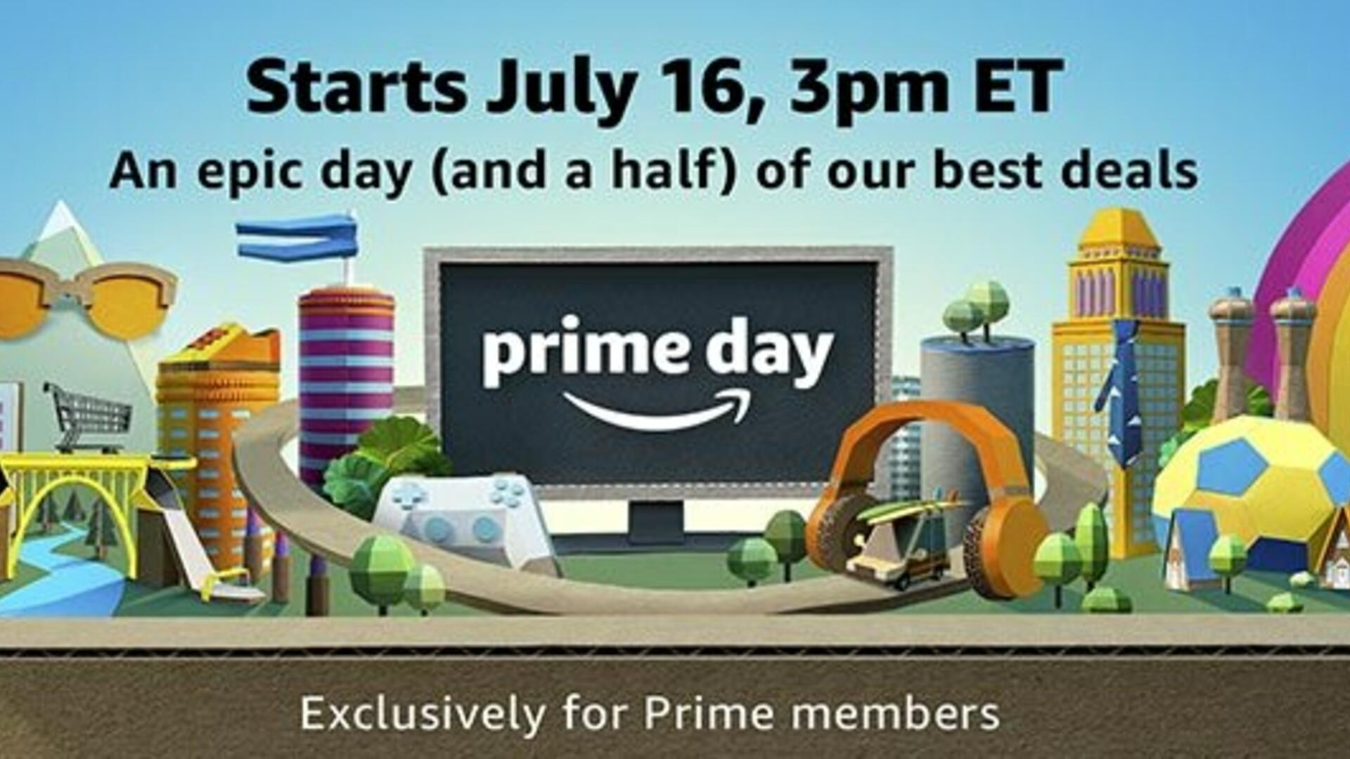 Amazon Prime Day 2018 Video Game Deals - Free PC Games, 4K