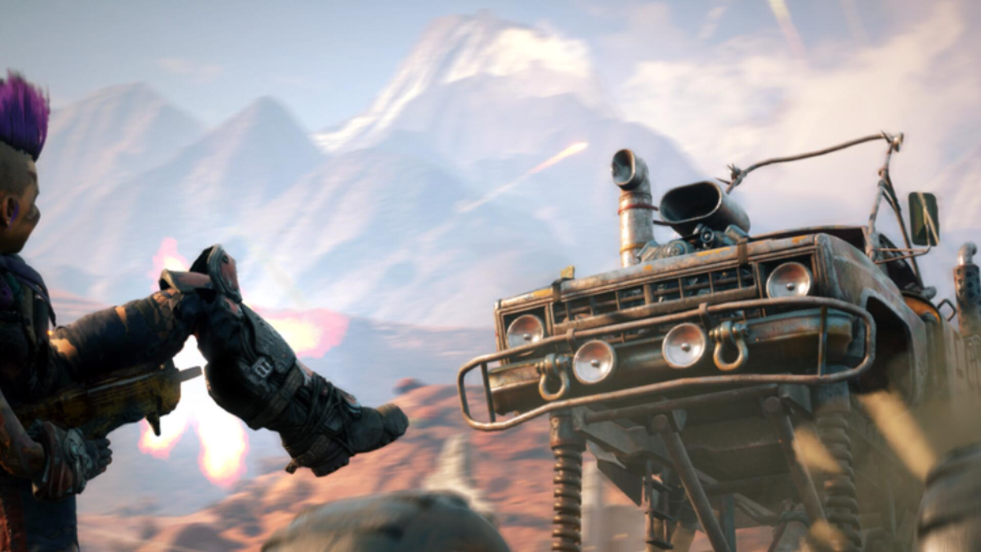 Rage 2 Mixes Mad Max and Robocop in New Gameplay Trailer