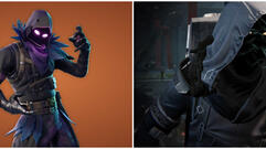 The Fortnite Raven Skin Looks Pretty Similar to Xur From Destiny 2