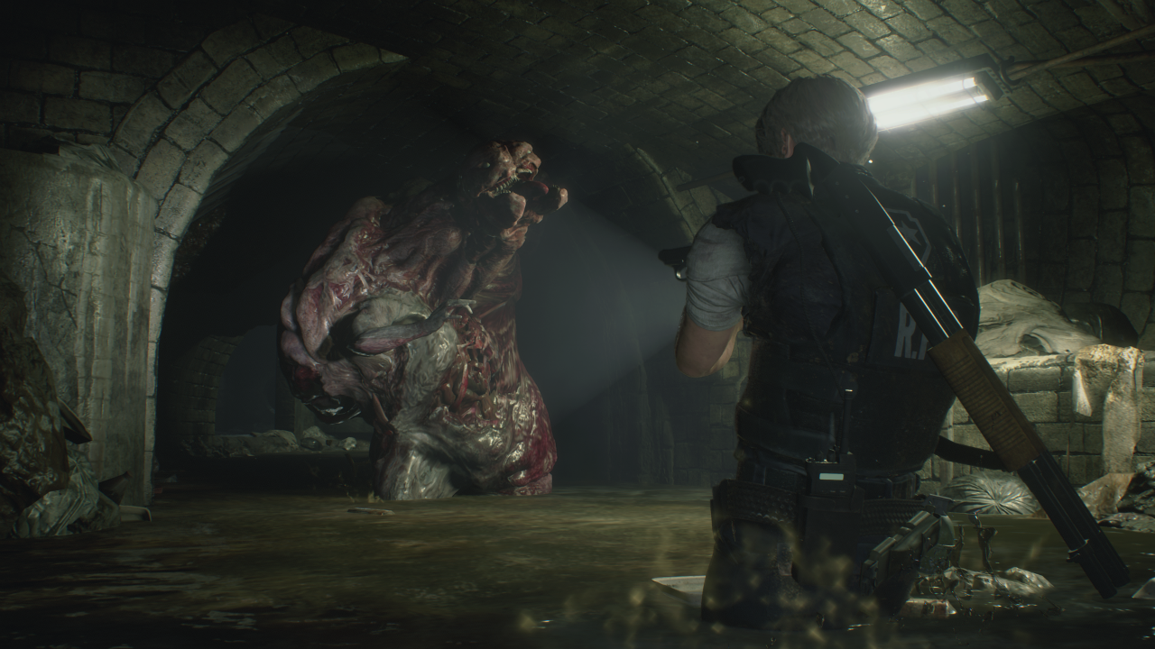 Resident Evil 2 Remake Preview A Night With The Stronger