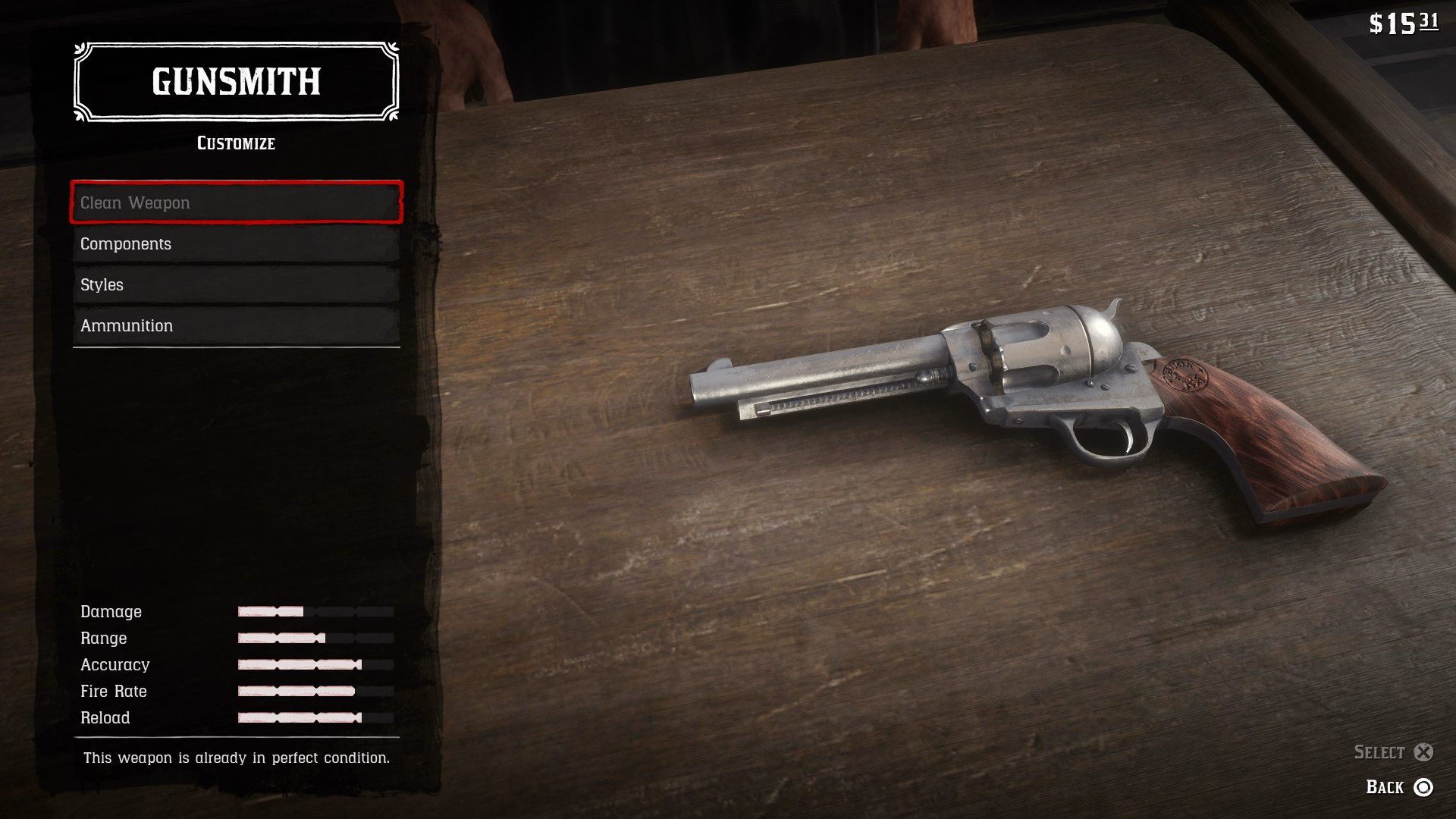 Red Dead Redemption 2 Weapons Stats How To Upgrade Weapons In Red