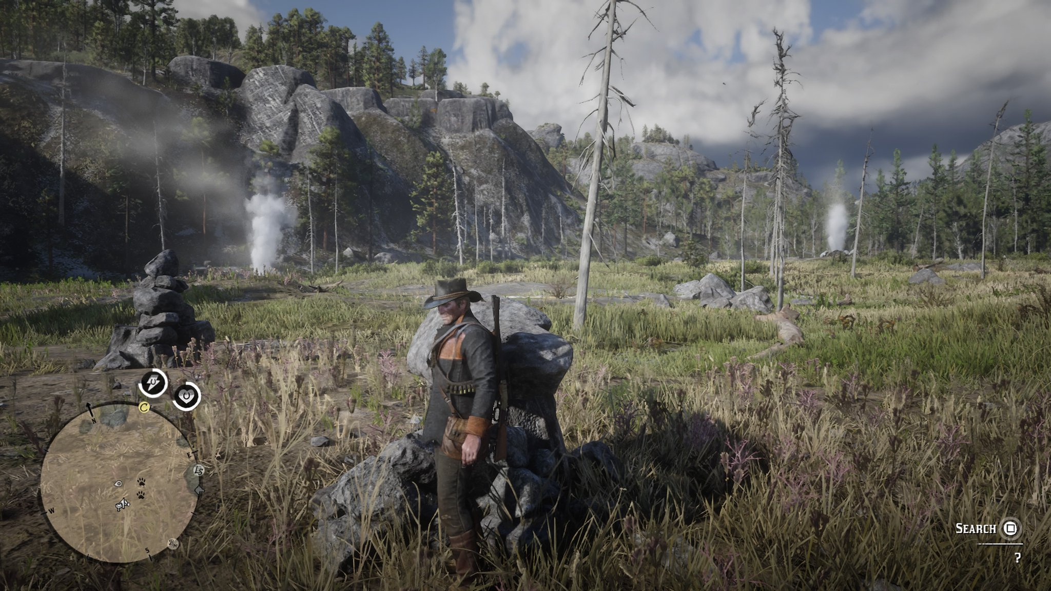Red Dead Redemption 2 Jack Hall Treasure Locations Where
