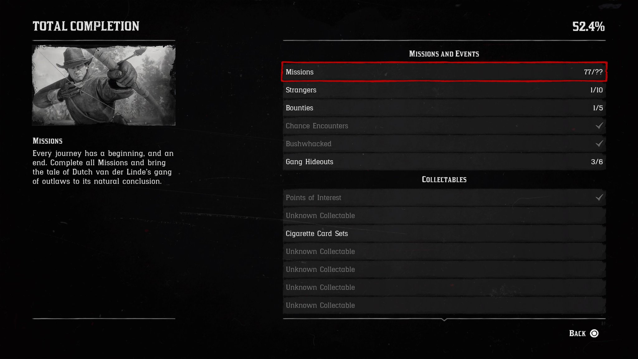 Red Dead Redemption 2 100 Completion Checklist How To Get 100
