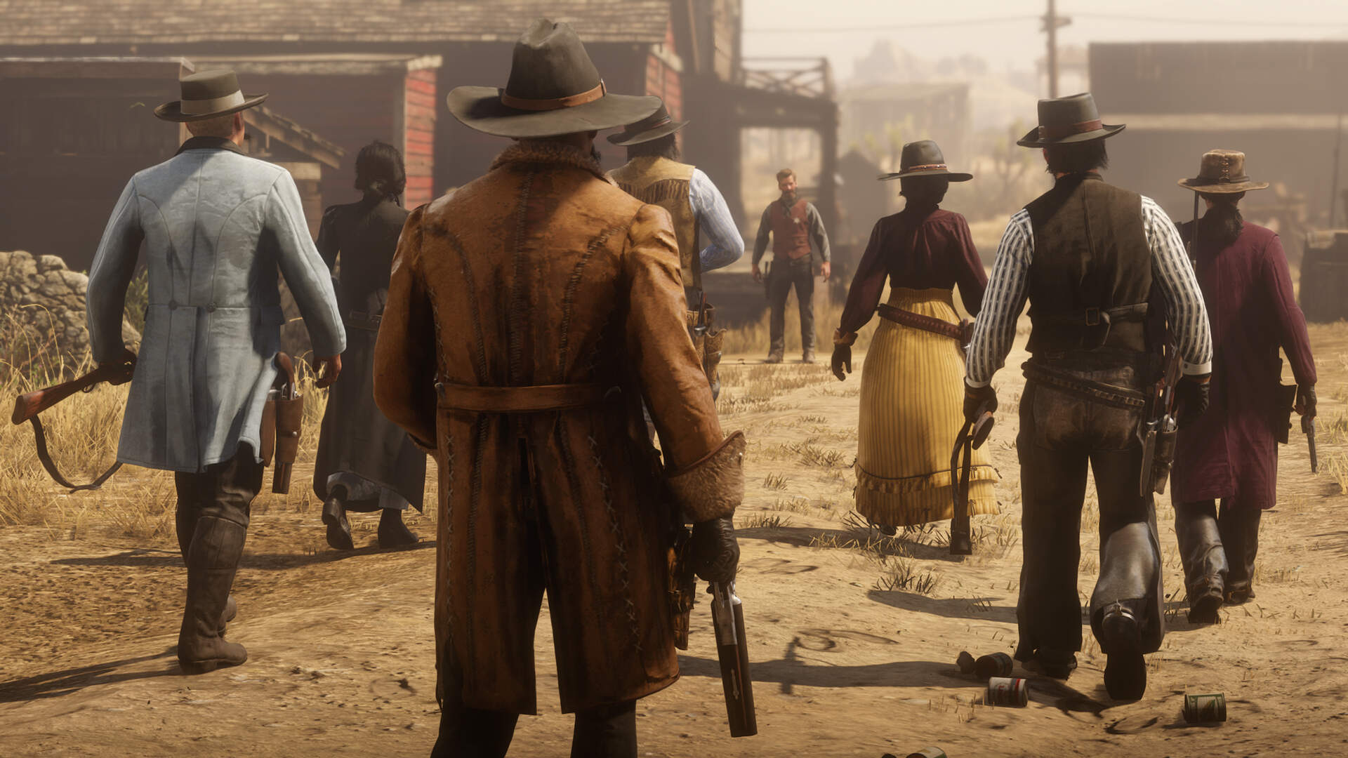 Red Dead Online's Battle Royale Mode Updated for Better Matchmaking