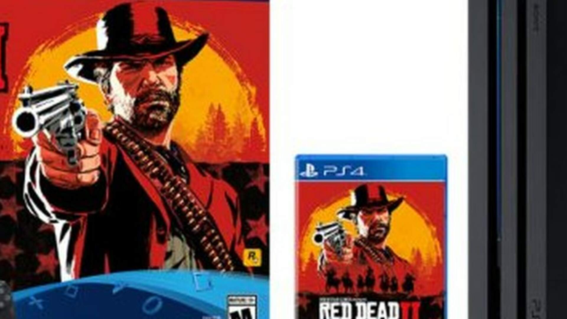 Red Dead Redemption 2 PS4 Pro Pre-Order Details (US and UK)