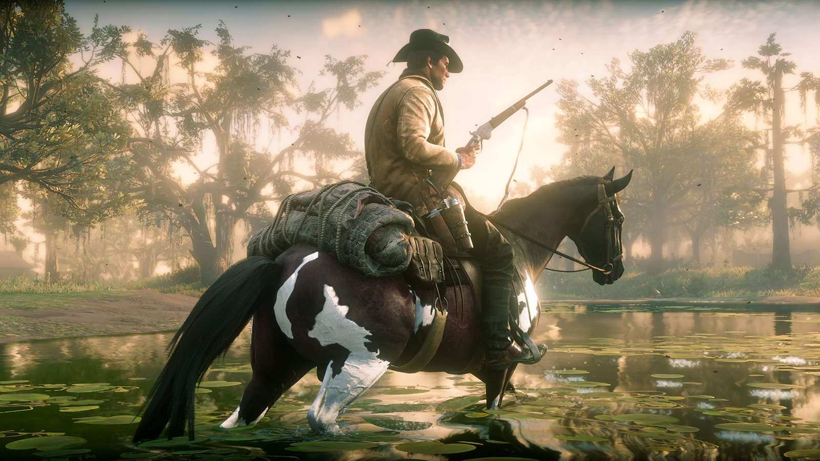 Red Dead Redemption 2 Has a Button Command for Spinning Your