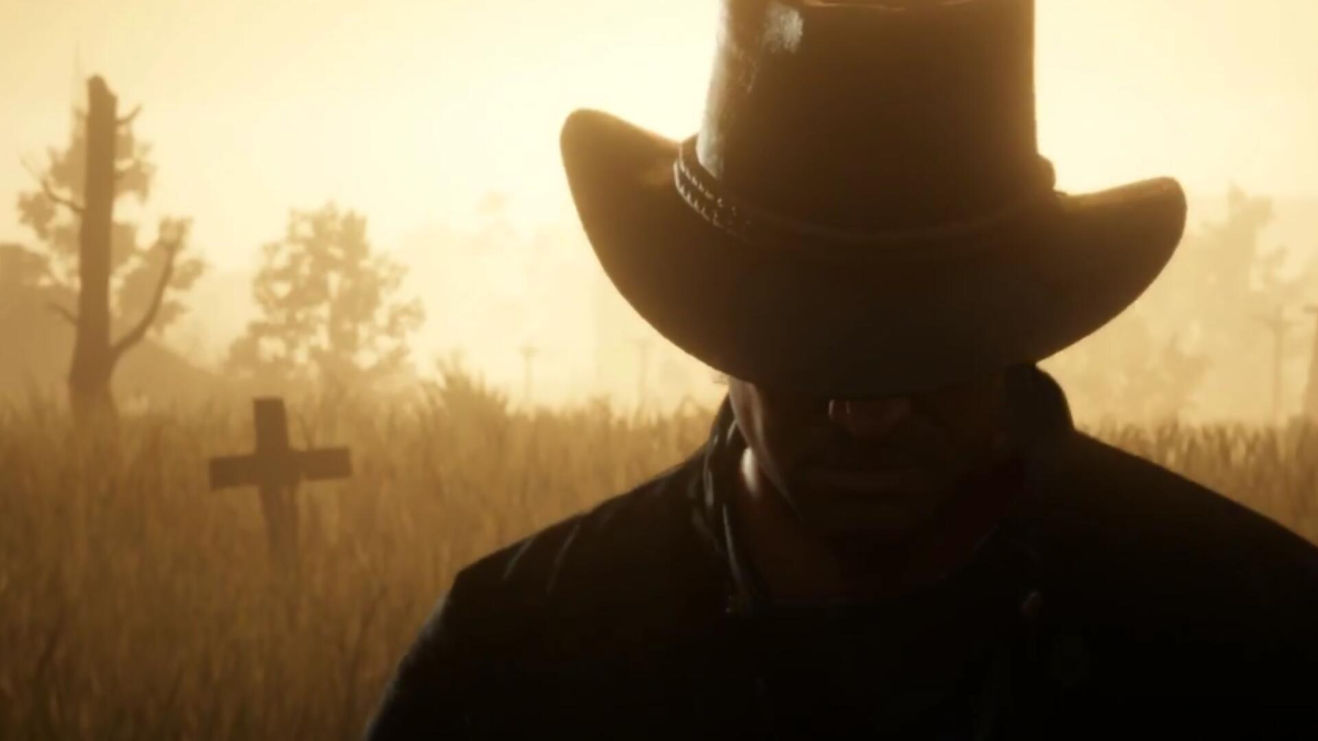 Red Redemption 2 Trailer Appears To Confirm The Presence Of An Important Character Usgamer