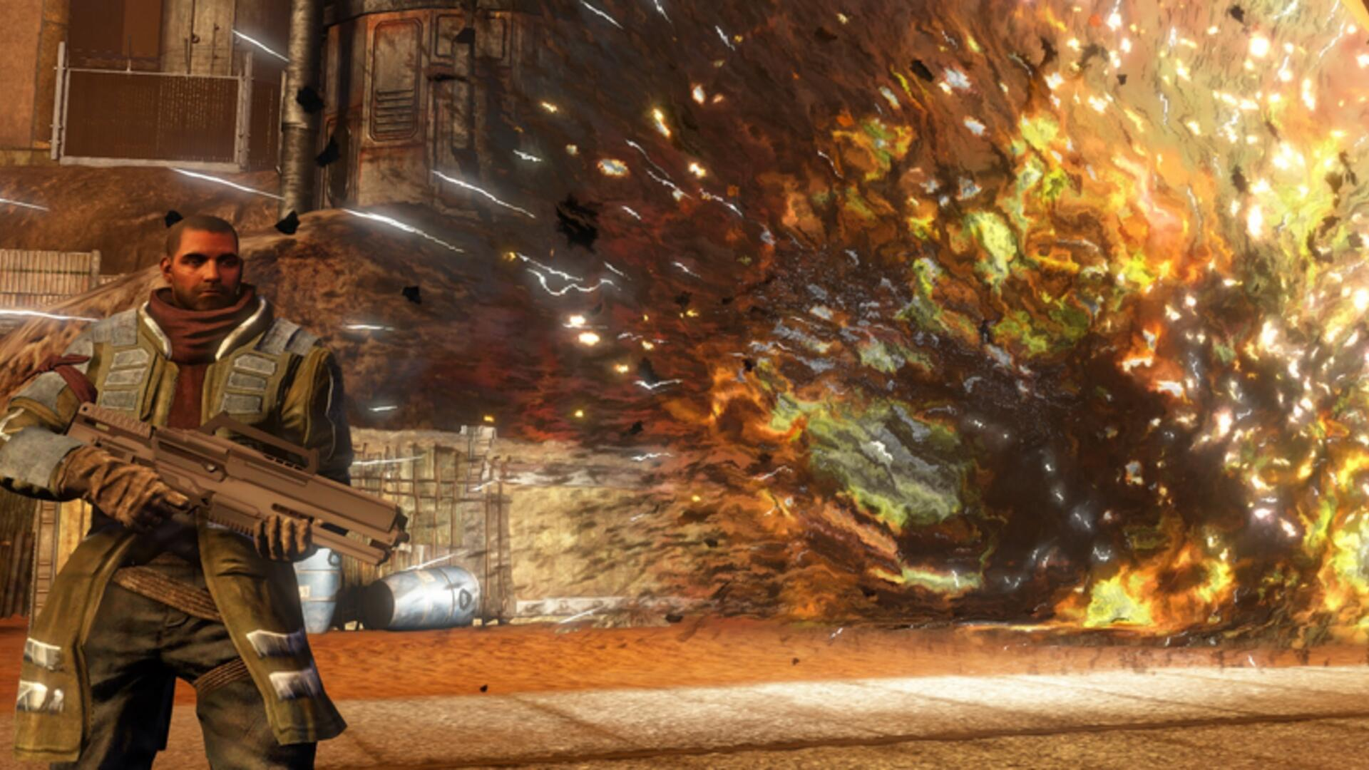 Red Faction Guerrilla Remaster Tasks Players With Destroying Mars in 4K