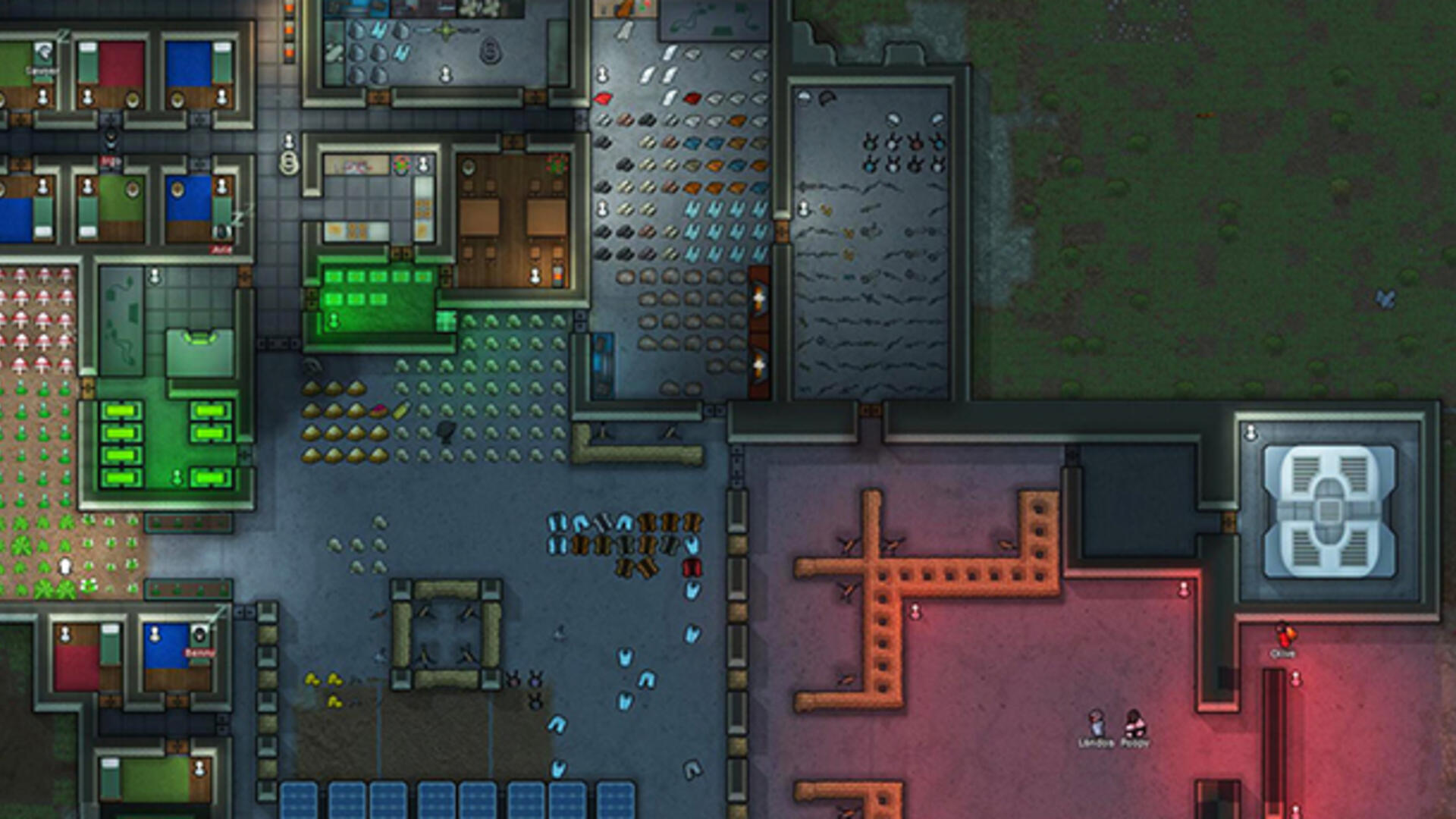 Space Colony Management Sim RimWorld Finally Leaving Early