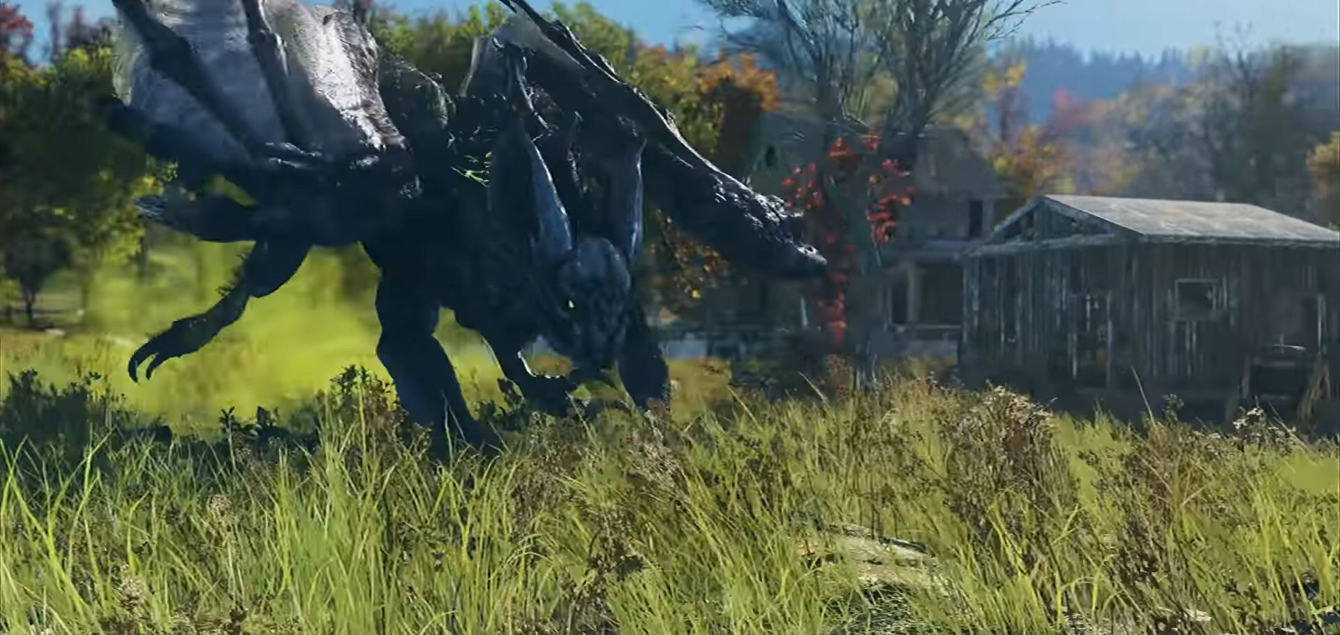 Image result for fallout 76 scorchbeast