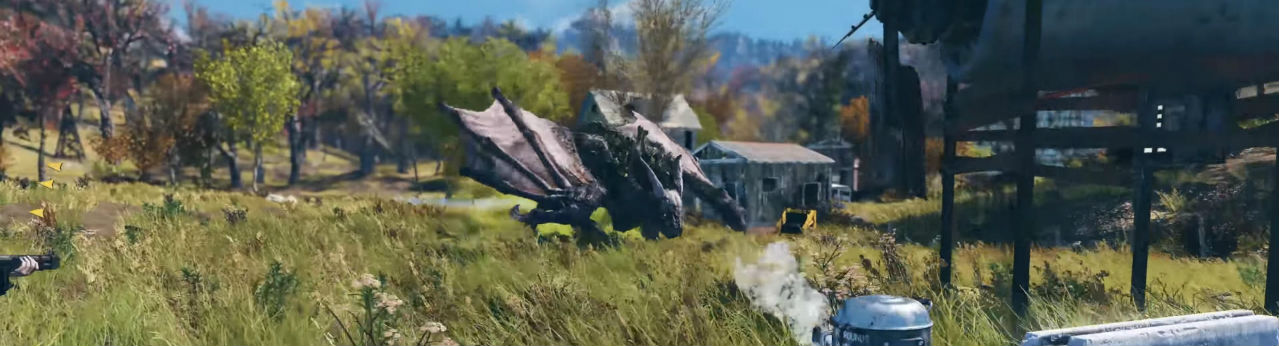 The Scorchbeast is Fallout 76's Answer to Skyrim's Dragons