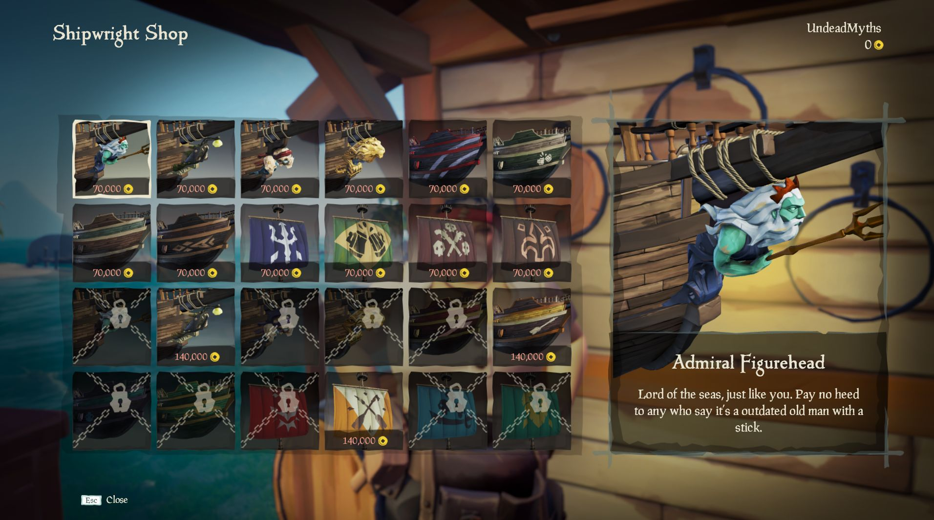 Sea of Thieves Ship Customization and Pricing Guide - New Hungering