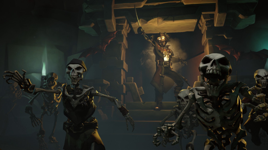 Sea of Thieves Skeleton Fort Guide - How to Take Down a