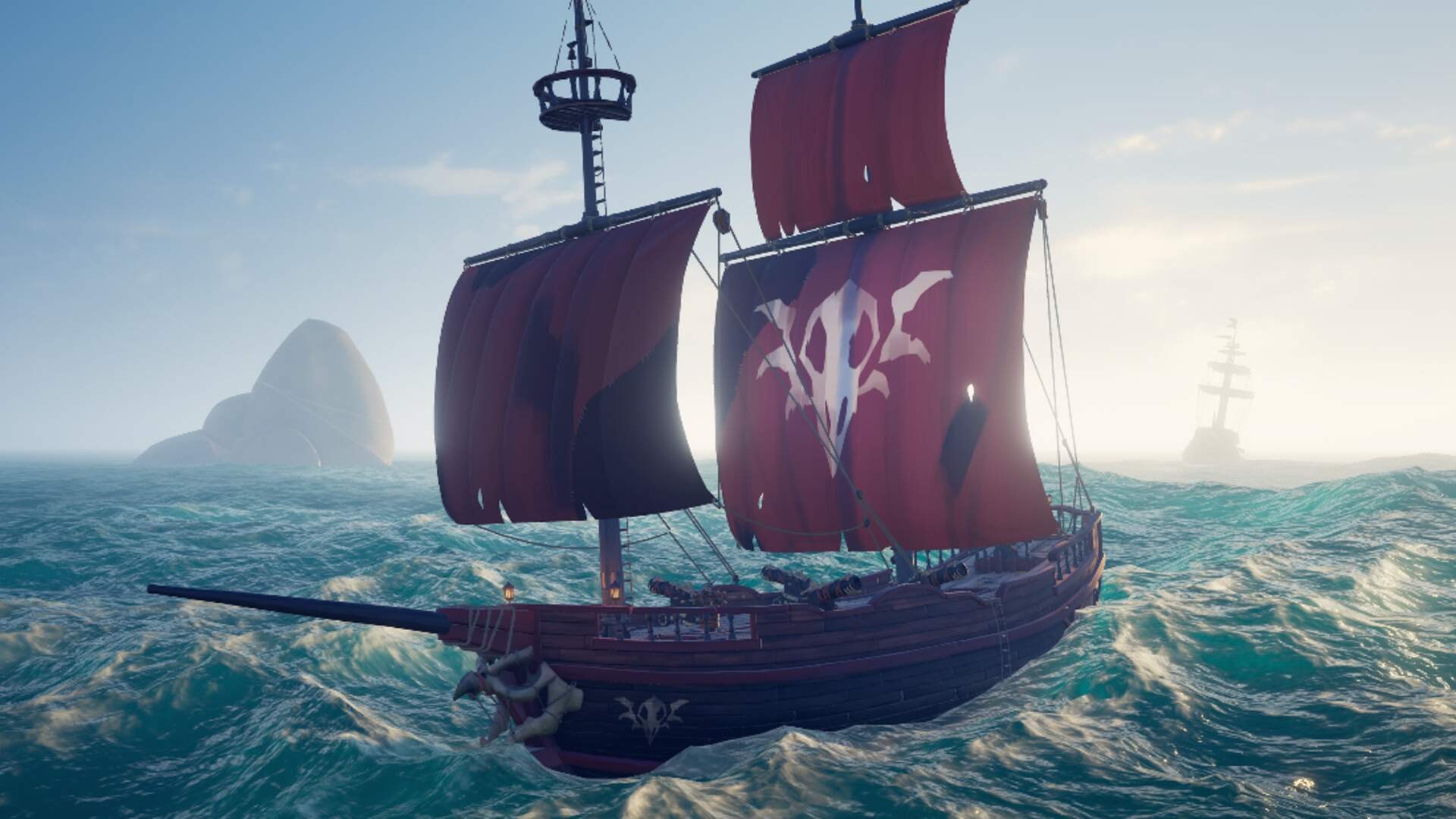 Sea of Thieves' Cursed Sails Update is Out Now