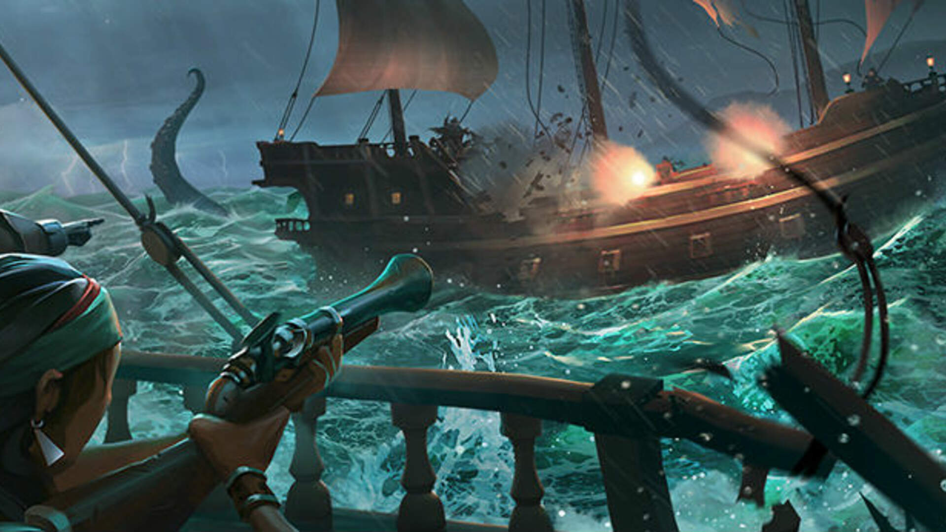 Sea of Thieves Teases Giant Sharks in the Hungering Deep Expansion