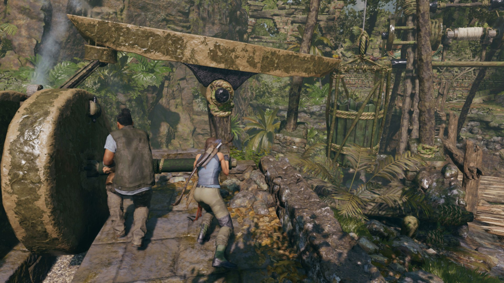 Shadow Of The Tomb Raider Bucket Puzzle Guide How To Solve The