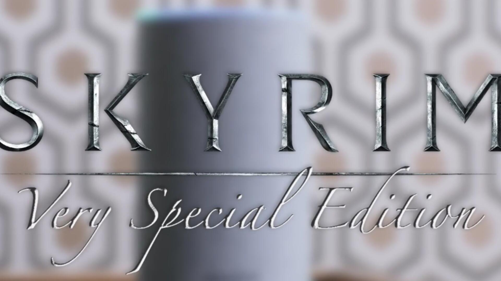 Skyrim: Very Special Edition is Bethesda's Very Good Joke About Bringing Skyrim to Literally Everything [Update: It's Real]