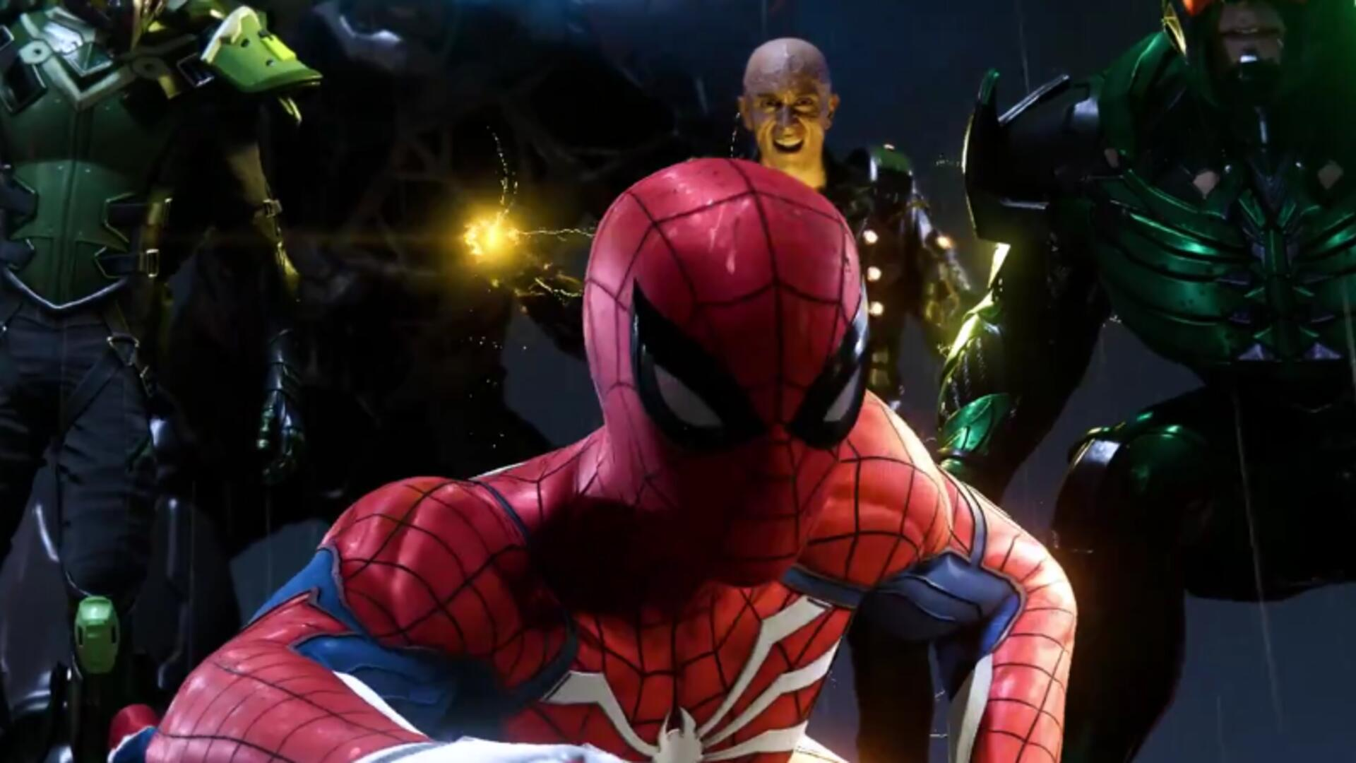 Spider-Man PS4's Mystery Villain Possibly Leaked by Voice