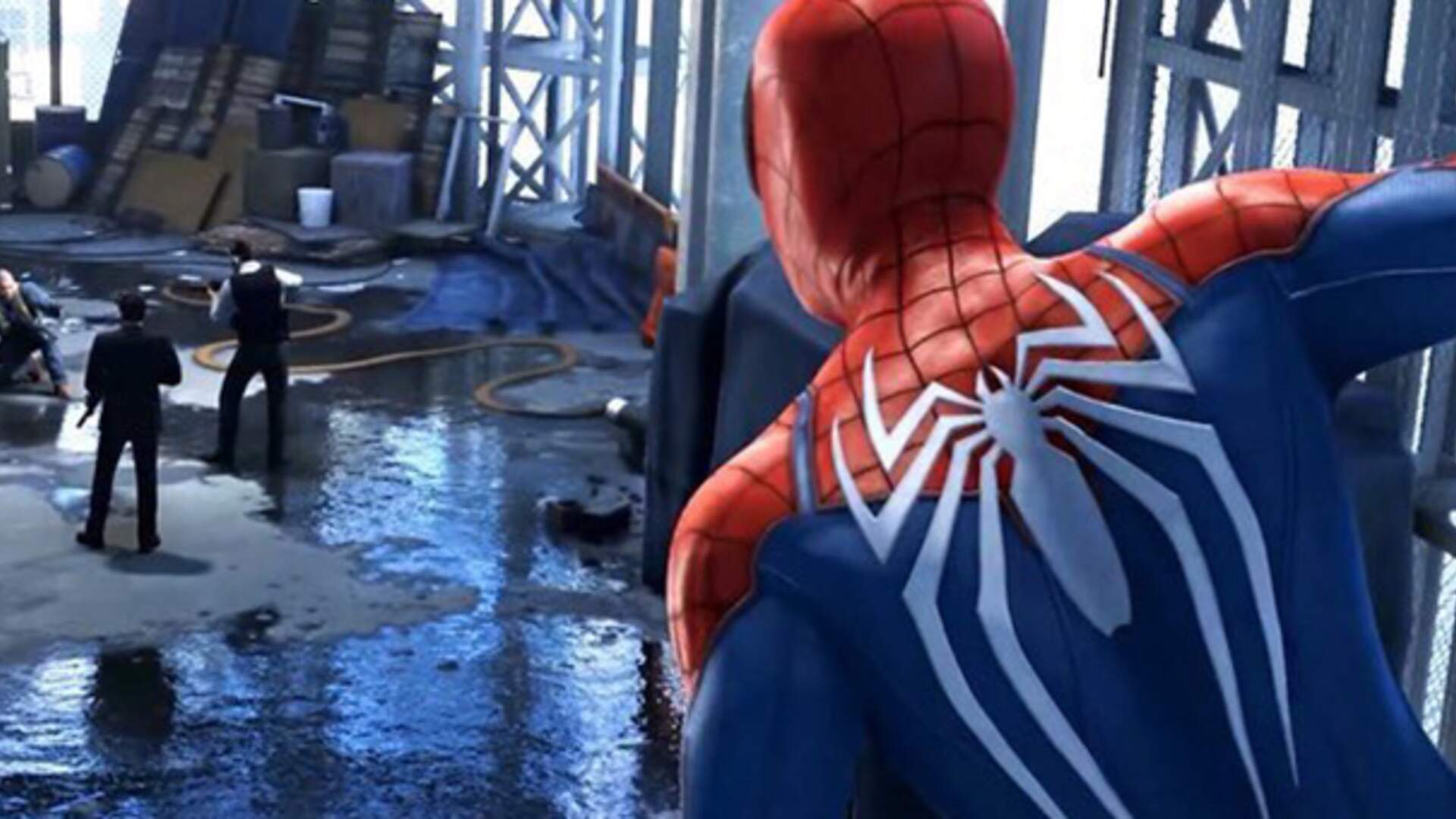 You Wanted Puddles, Spider-Man PS4 Just Gave You All the Puddles