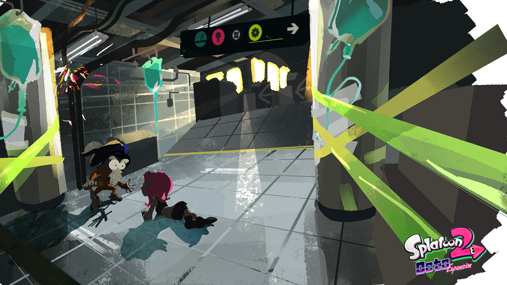 Octo Expansion Subway Map.Splatoon 2 S Octo Expansion Is Channeling Breath Of The Wild S