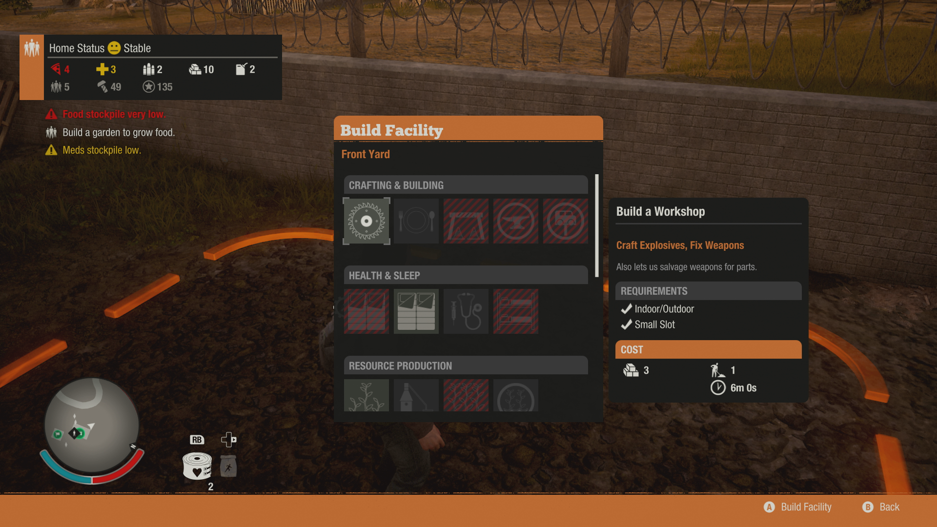 State Of Decay 2 Bases Best Base Locations Starting Usgamer Video This Walks You Through Building Circuit Using Auto Shop For Ten Materials And Two Scraps Circuitry Can Craft Vehicle Upgrades Improve Durability