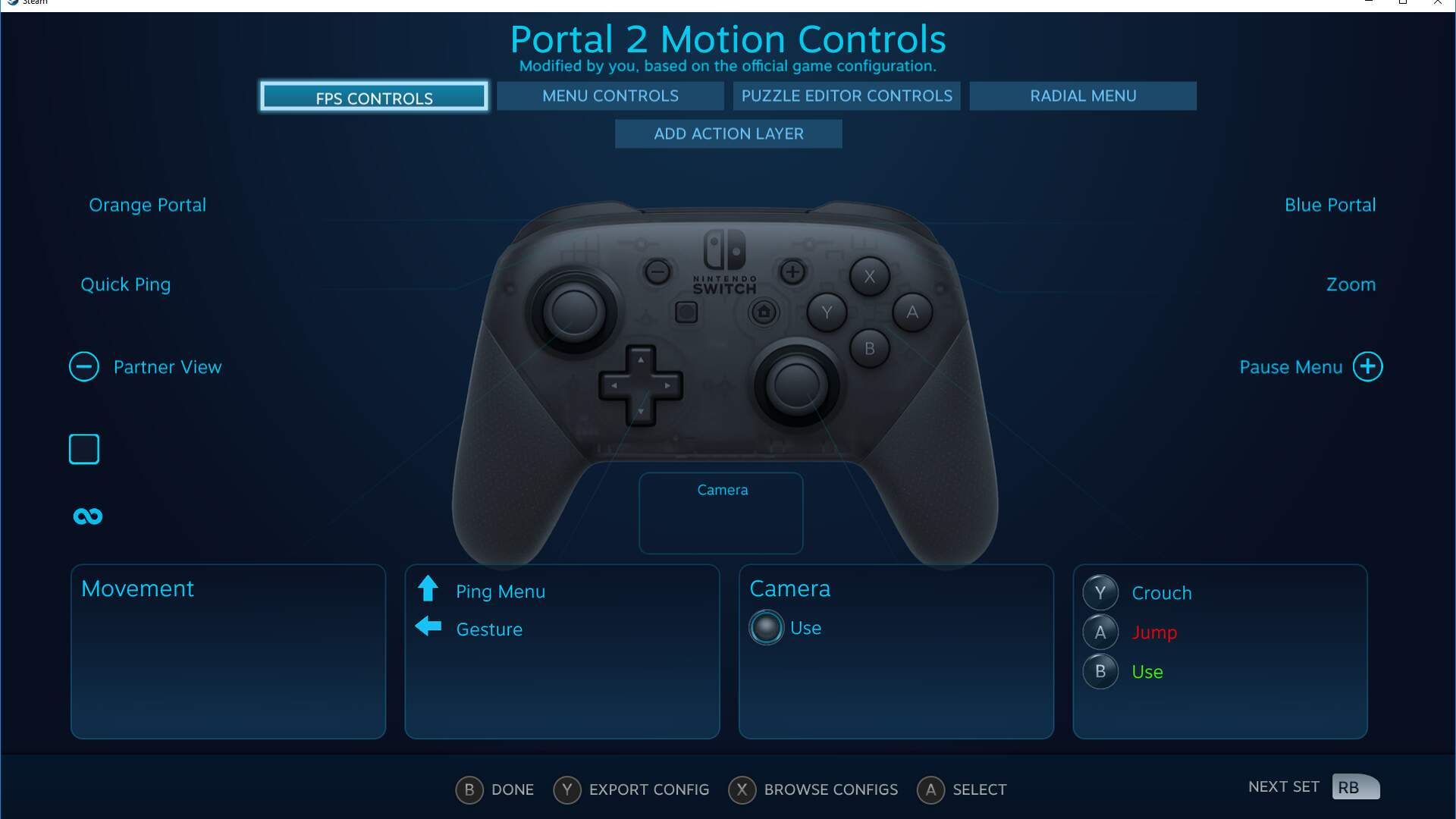 Steam Now Supports the Nintendo Switch Pro Controller Including Full Gyro
