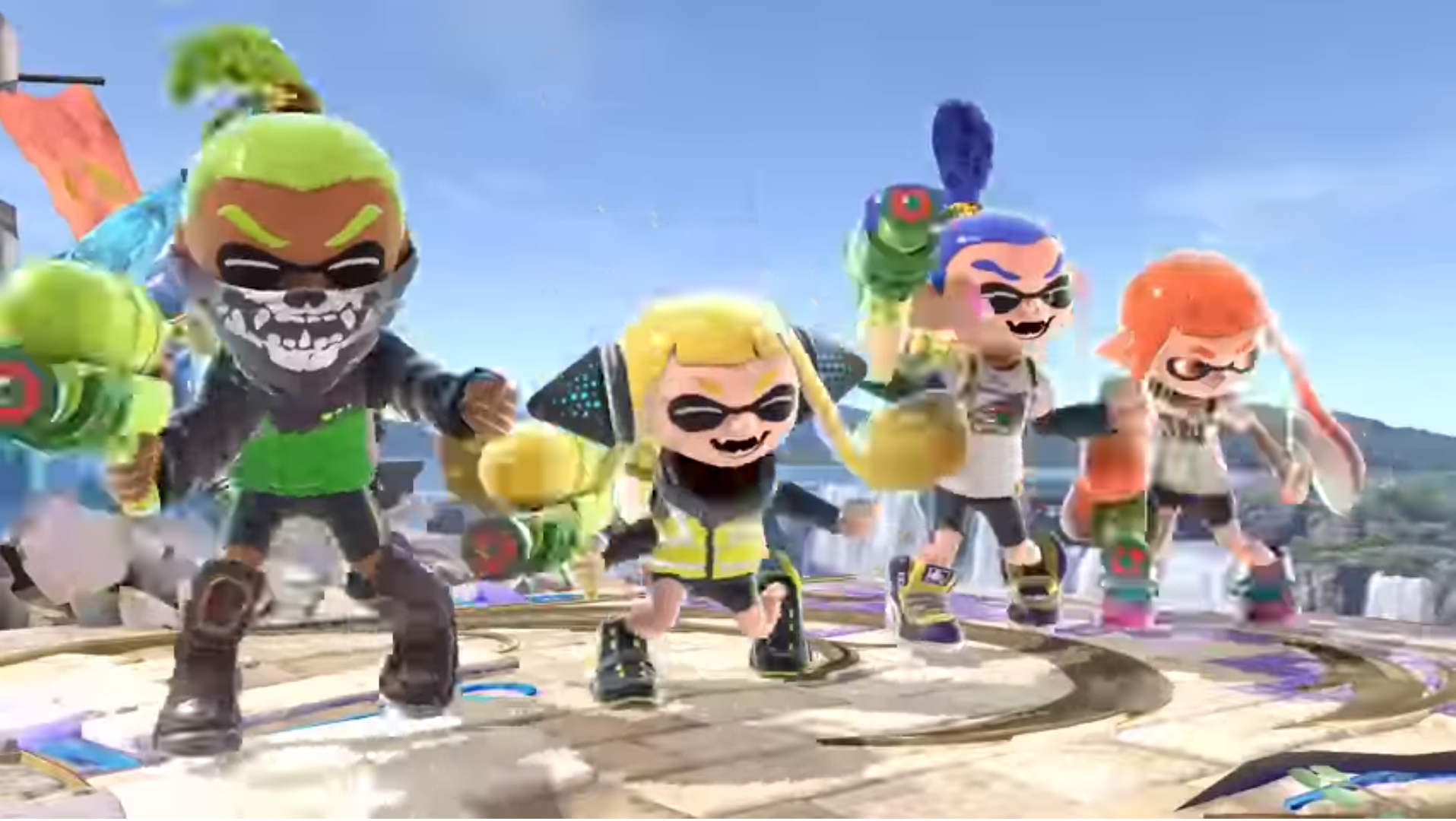 Image result for inkling super smash