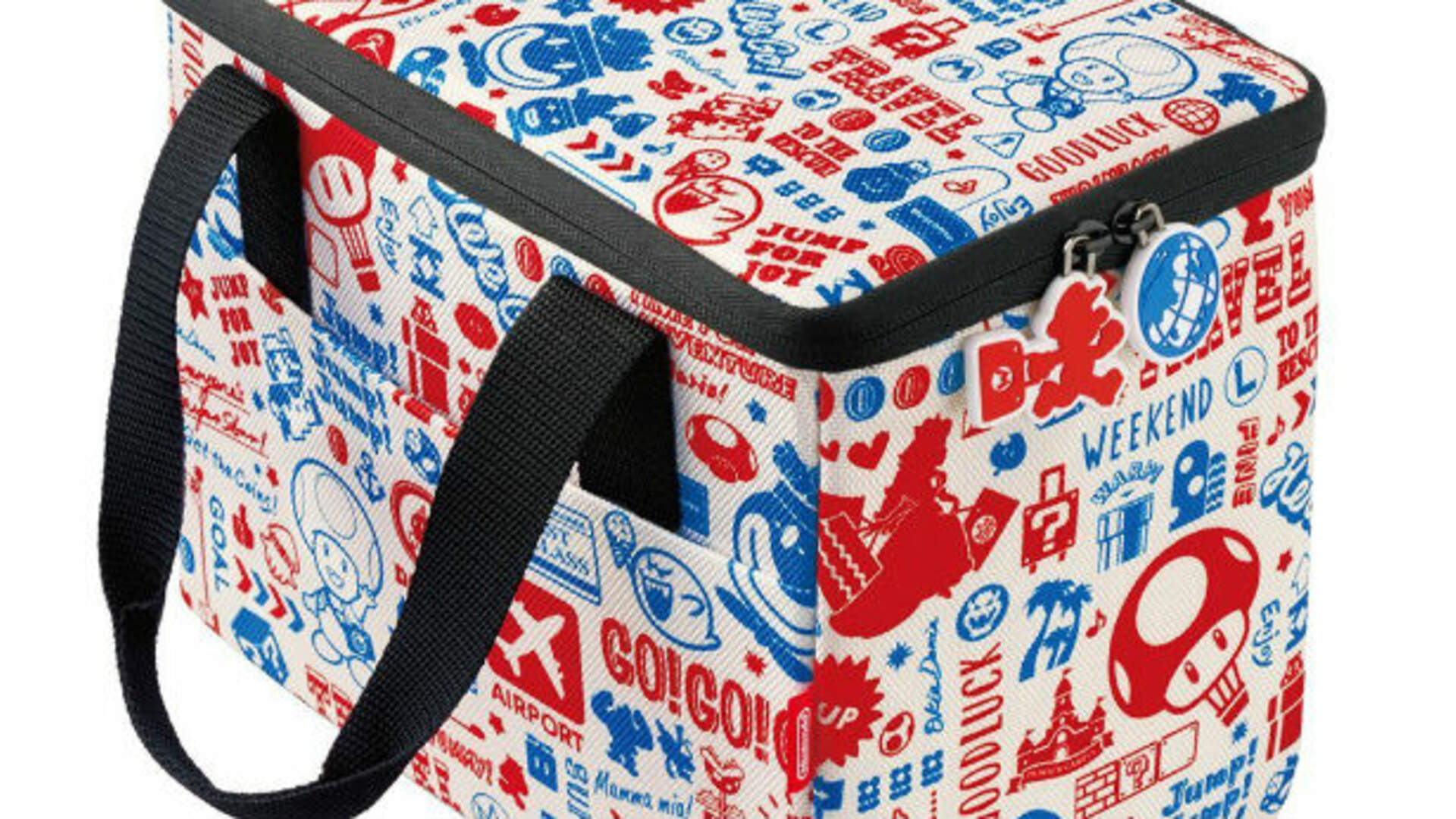 This Cool Super Mario Odyssey Switch Bag Can Hold Your System or Your Lunch