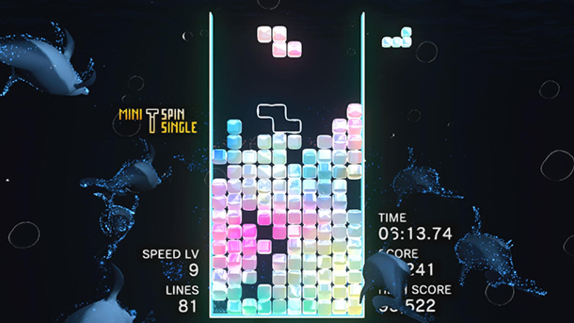 Tetris Effect Review | USgamer