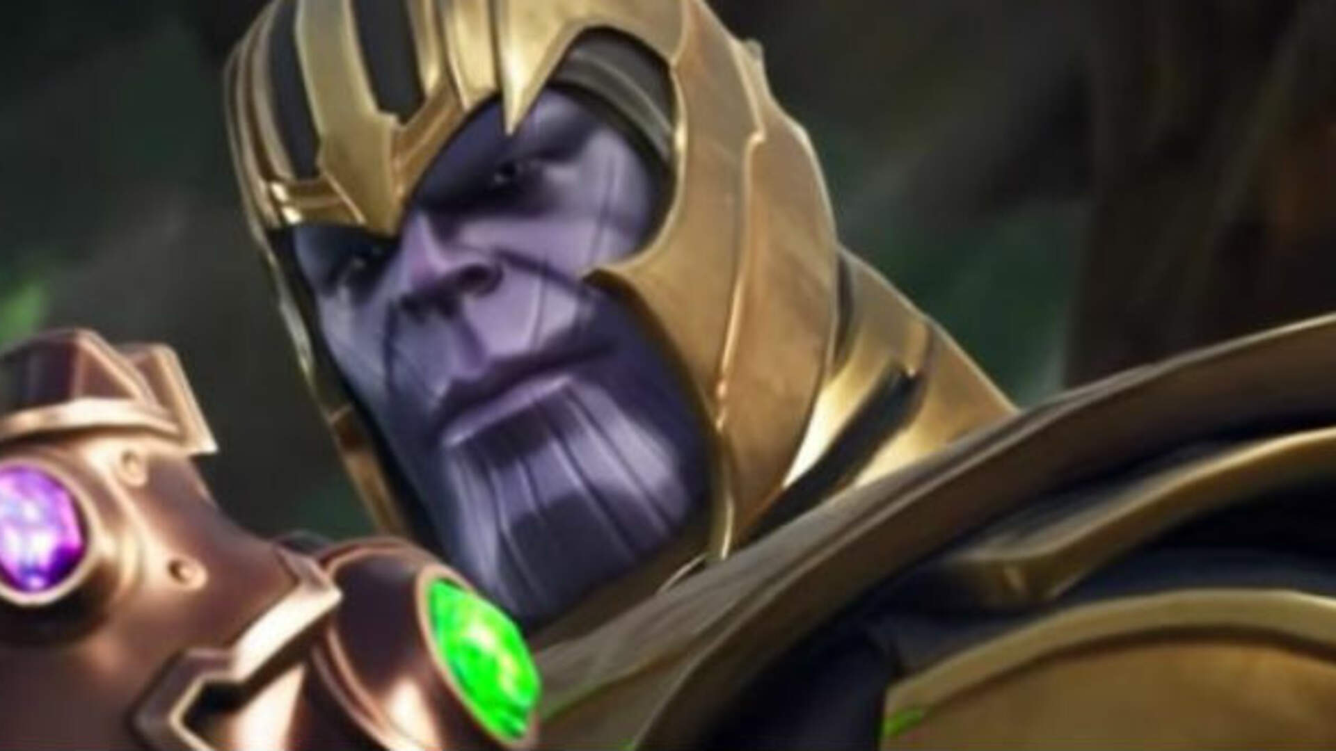 Here's What Thanos Gameplay Looks Like in the Avengers Fortnite Event