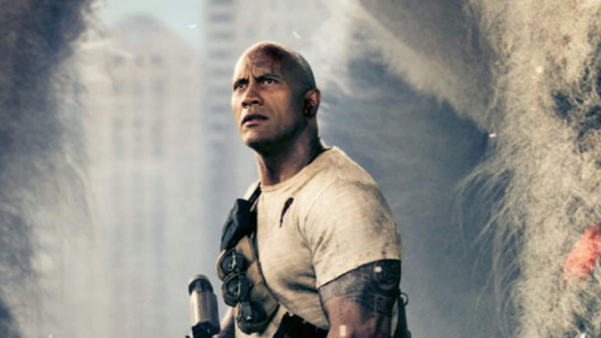 The Rock Dunks on Doom While Touting Rampage's Reviews