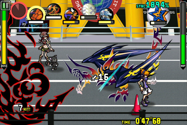 Image result for world ends with you switch screen