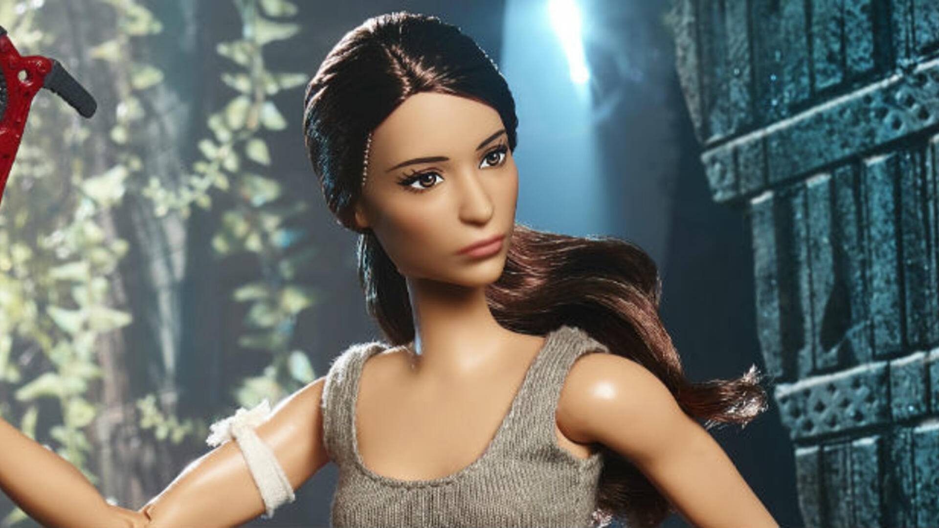 Tomb Raider Barbie Accessorizes Well with Death and Trauma
