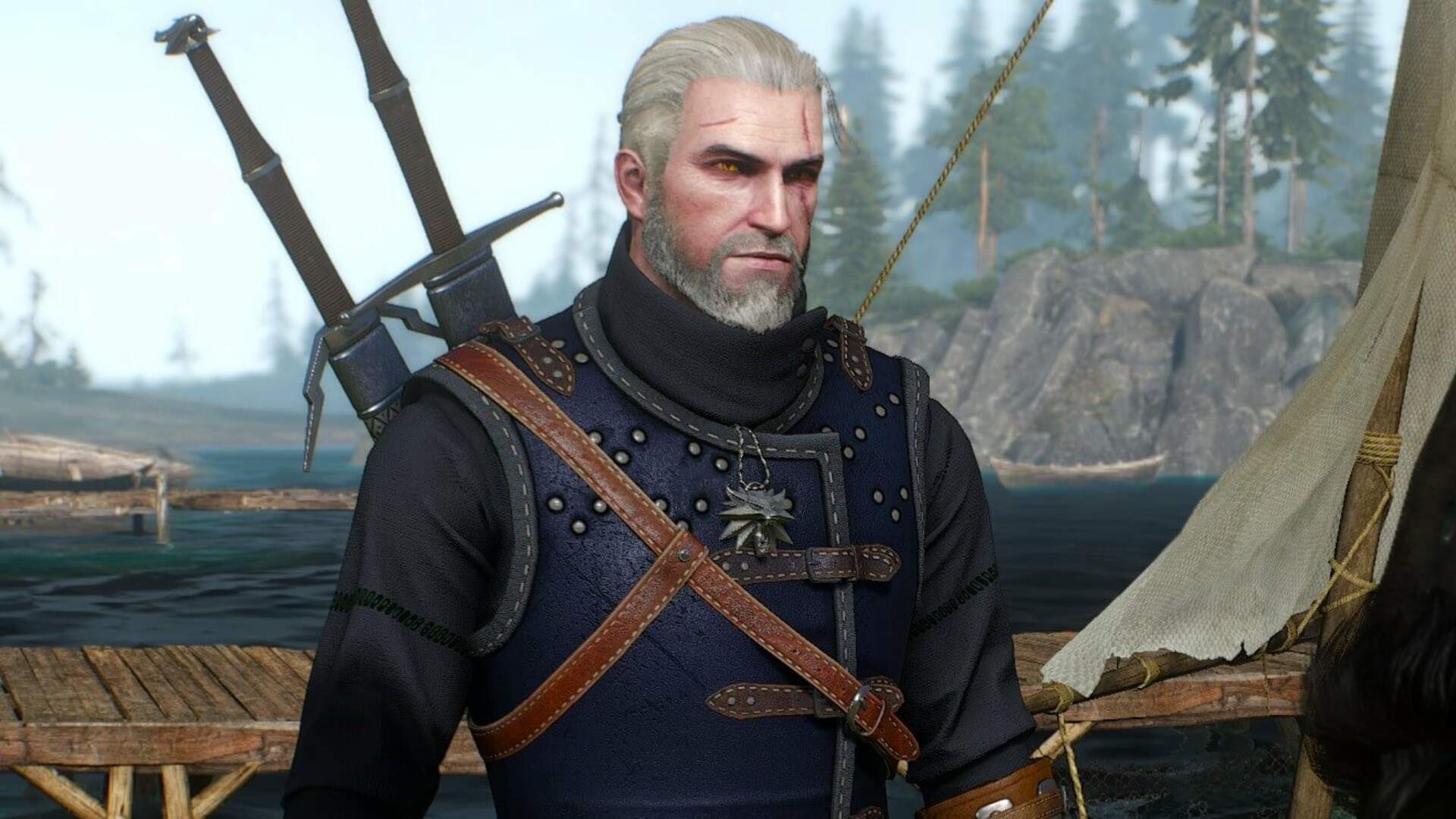 Here's What Bathtub Geralt Looks Like in Witcher 3 for Switch - Hands-On Impressions