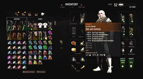 The Witcher 3 The Best Weapons And Armor Guide Usgamer