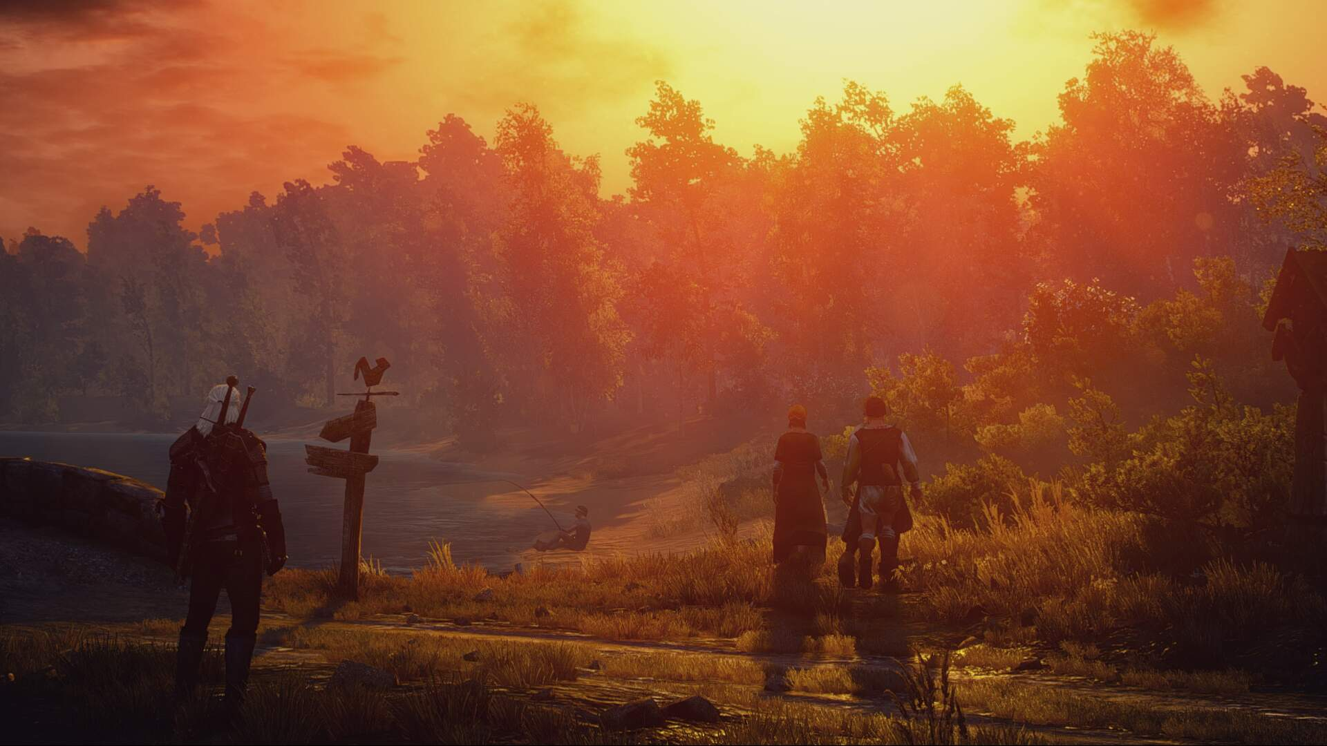 Witcher 3: How to Defeat Werewolves and Stop Their Health Regen Ability