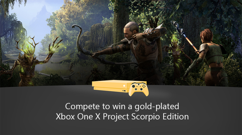 Xbox Game Pass Users Can Win a Gold-Plated Xbox One X | USgamer