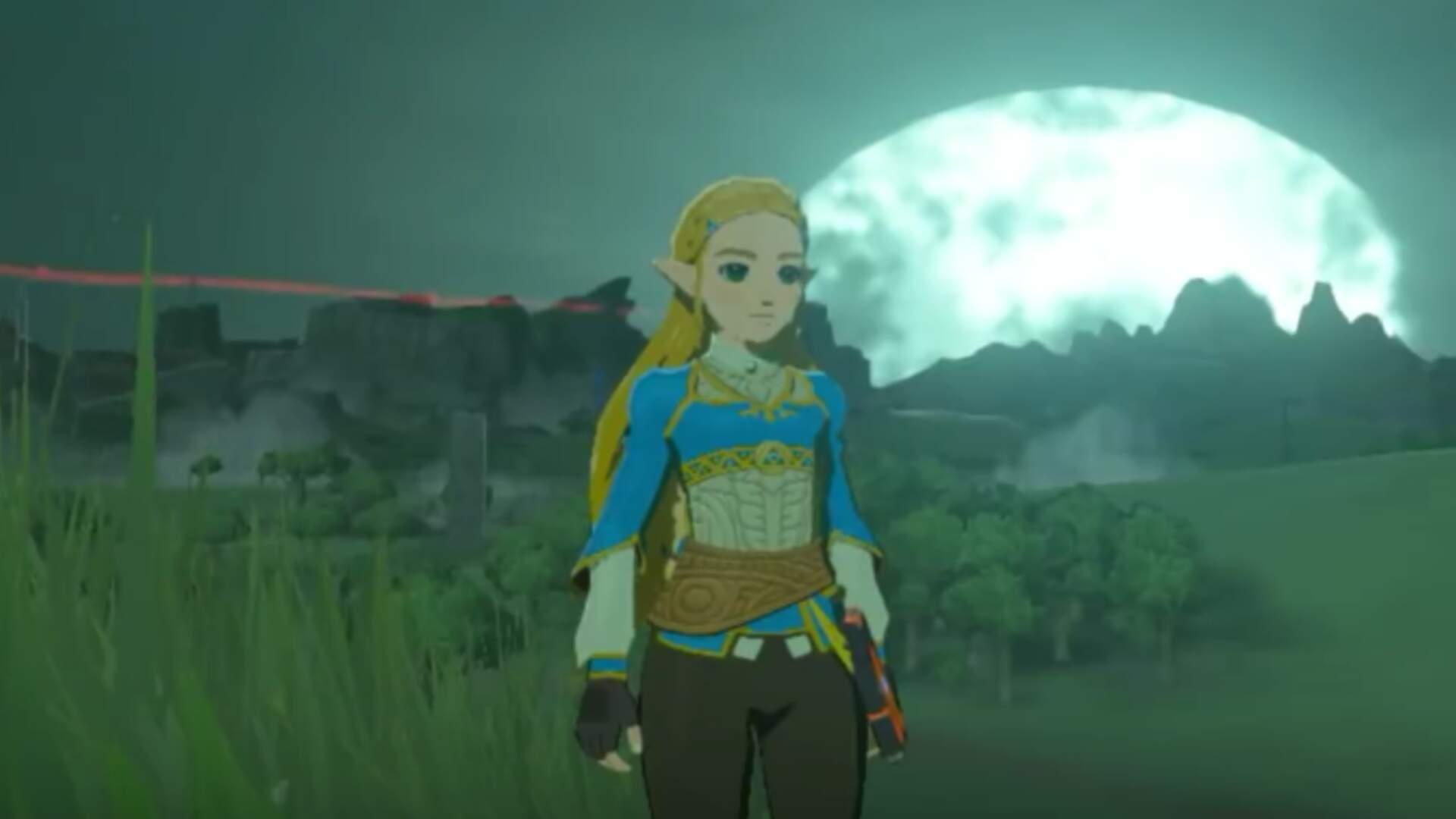 Incredible Breath of the Wild Mod Reimagines the Game with Zelda as the Hero