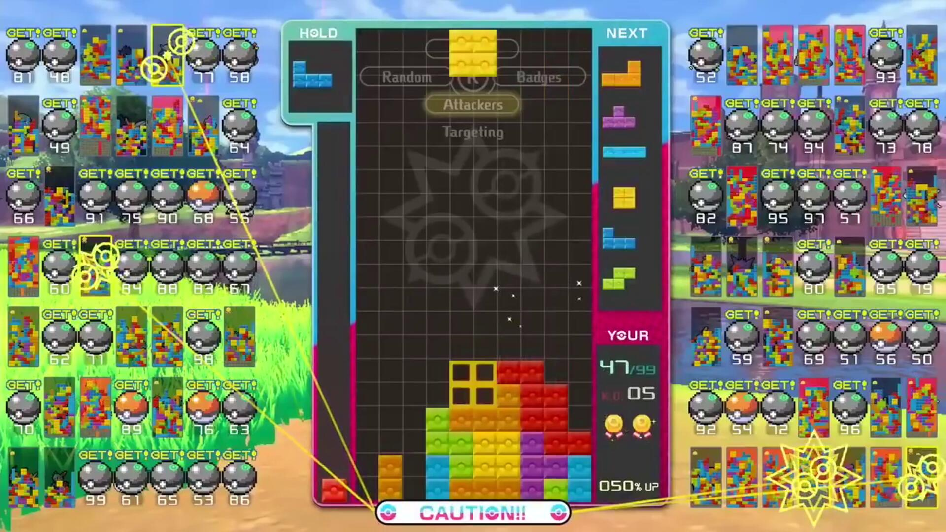 Gotta Catch All 98 Opponents in Tetris 99's Upcoming Pokemon Crossover Event