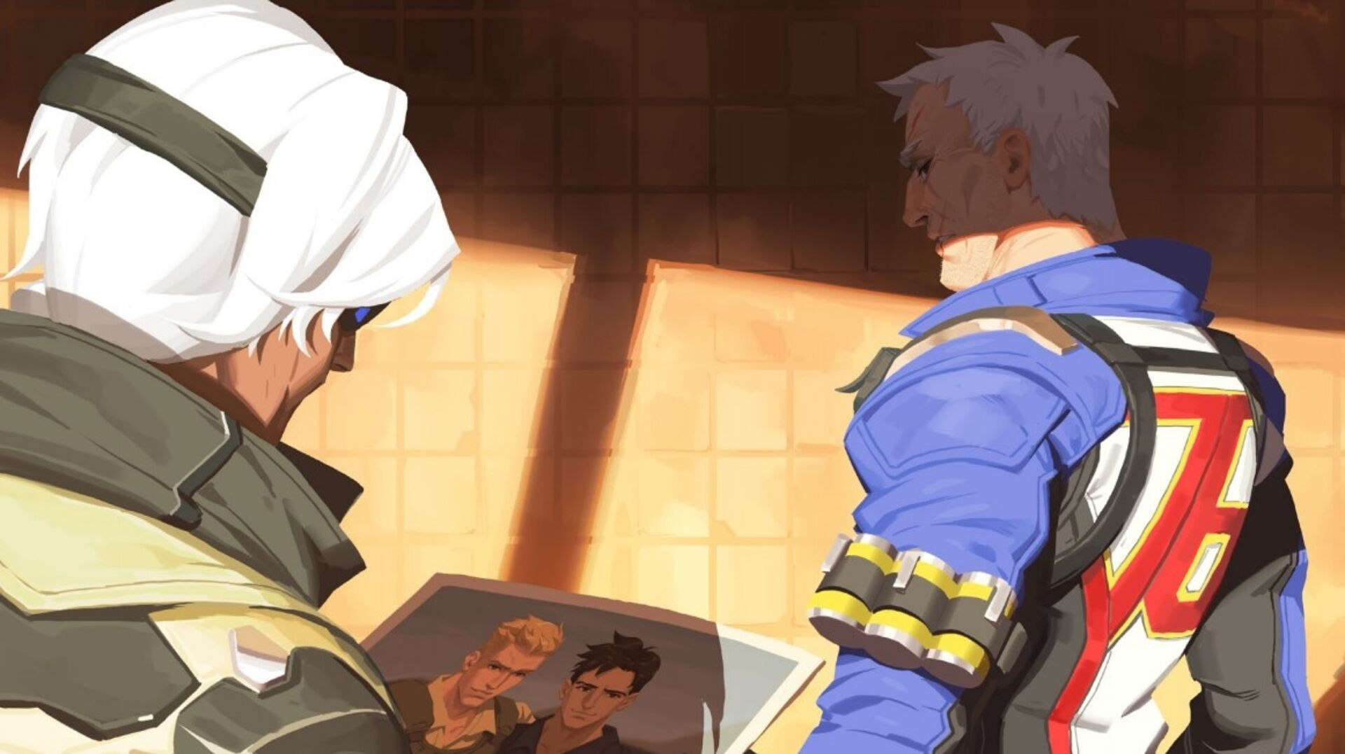 Another central Overwatch character has an LGBT backstory