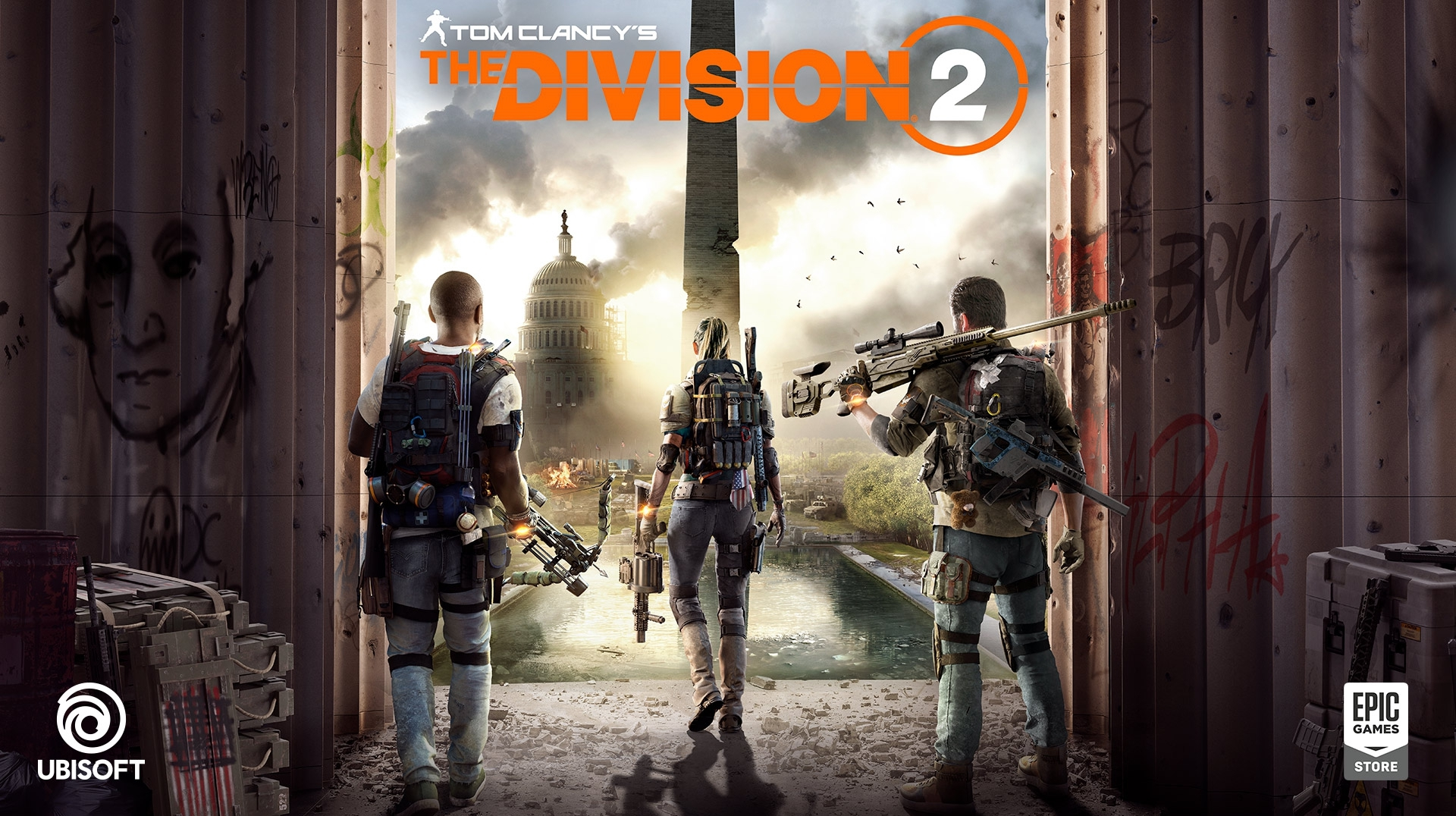 The Division 2 won\u0027t be on Steam, but it will be on the Epic Games