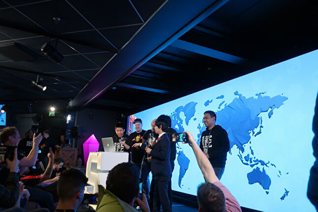 As Brawl Stars launched worldwide, Supercell invited community representatives to come up and press the launch button for their respective regions