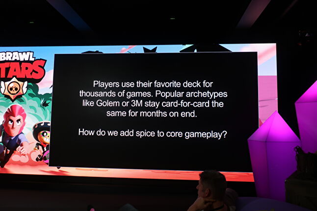At different points during the visit, Supercell directly asked members of its game communities for feedback and suggestions on specific sticking points