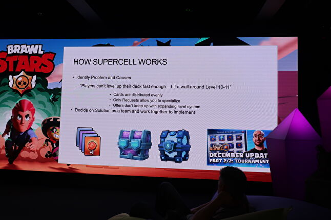At the event, the Clash Royale developers asked the audience of community members and content creators how to solve the game's current most pressing issues