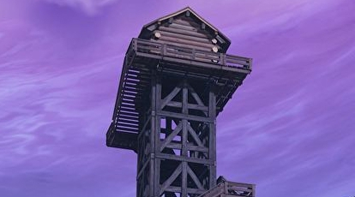 Fortnite Water Tower, Ranger Tower And Air Traffic Control