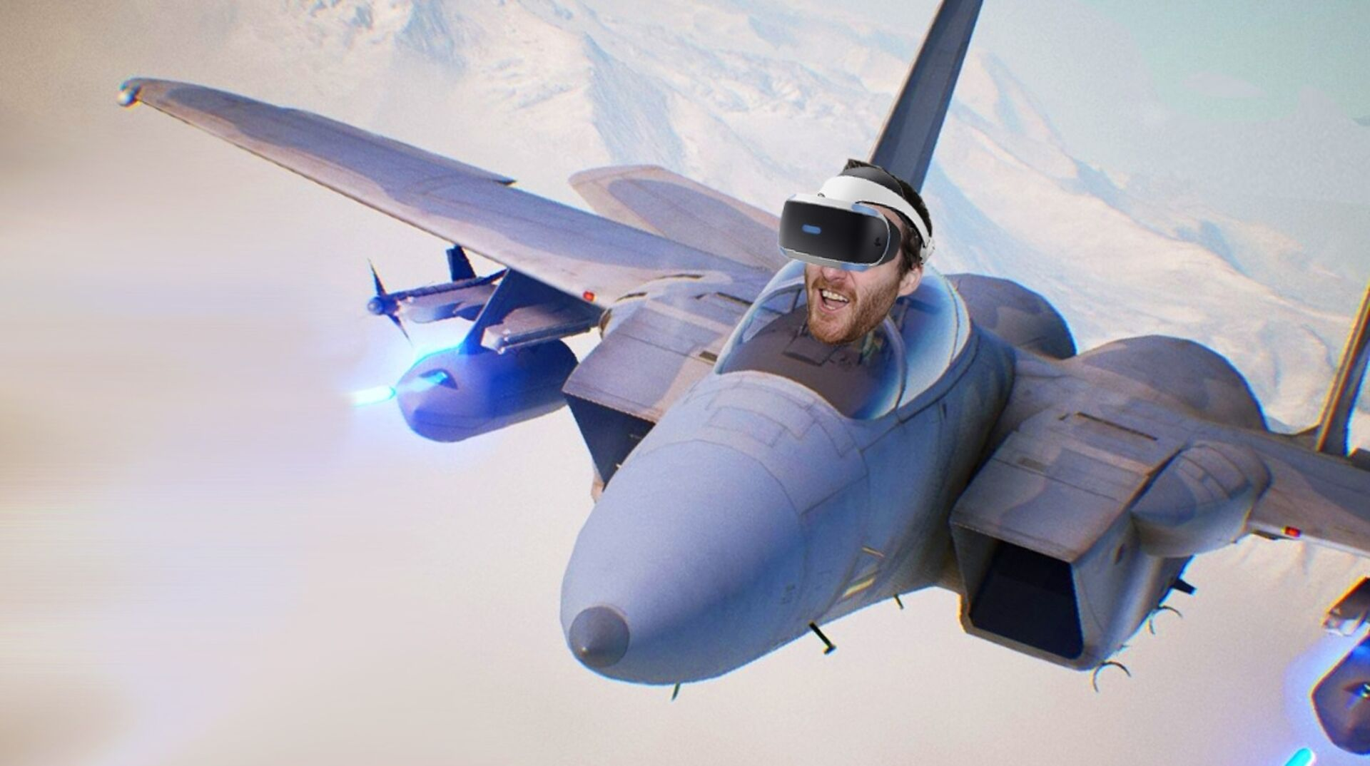 Ace Combat 7 in VR is phenomenal (if you have the stomach for it