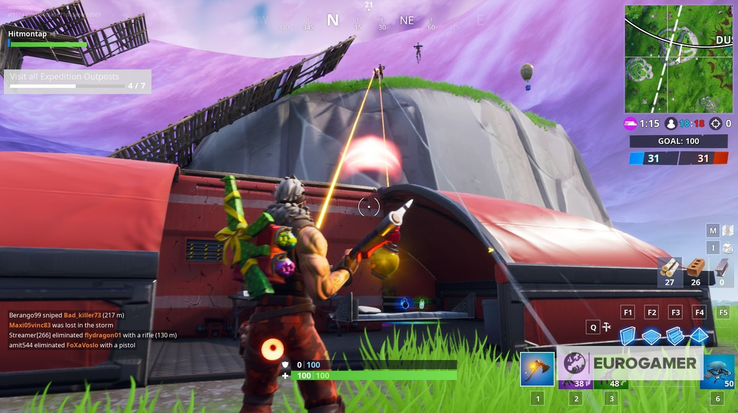 fortnite expedition outpost locations where to visit expedition outposts eurogamer net - all expedition outposts fortnite season 7