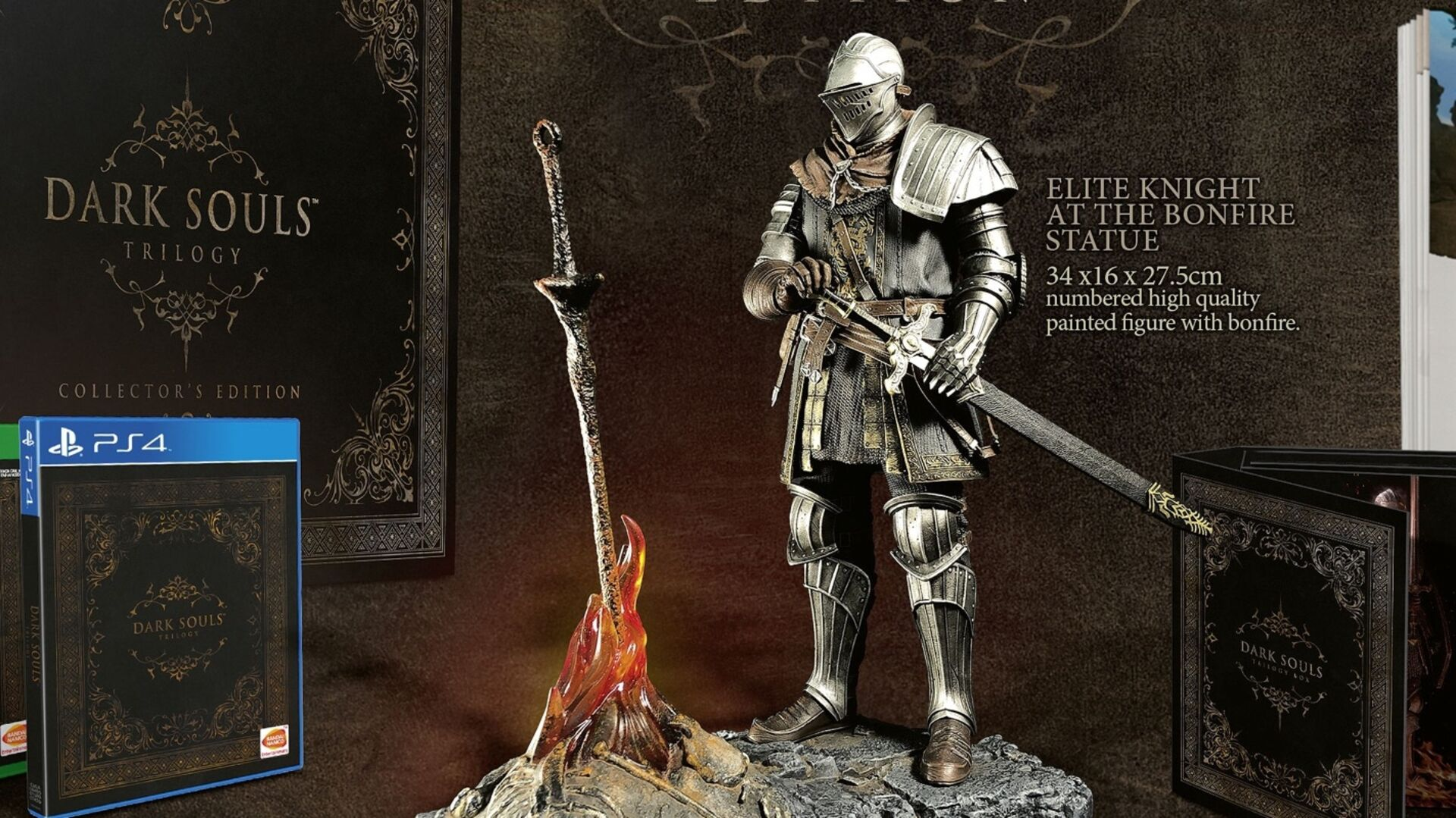 Europe's Dark Souls Trilogy Collector's Edition is pretty swish