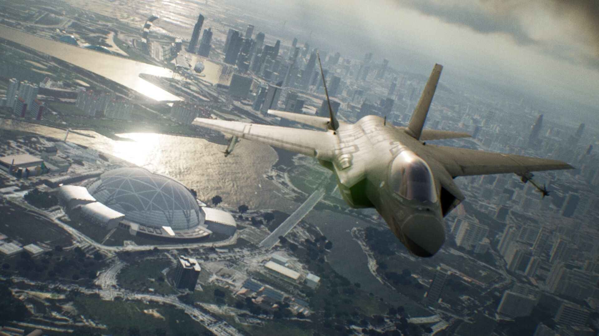 Ace Combat 7 A Classic Series Evolves With Stunning Visuals Eurogamer Net
